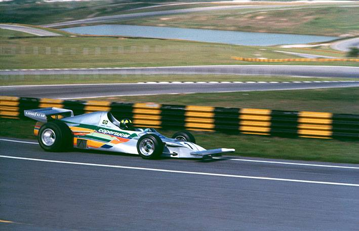 Fittipaldi Formula 1 team Ricardo Divila Icaru's wings