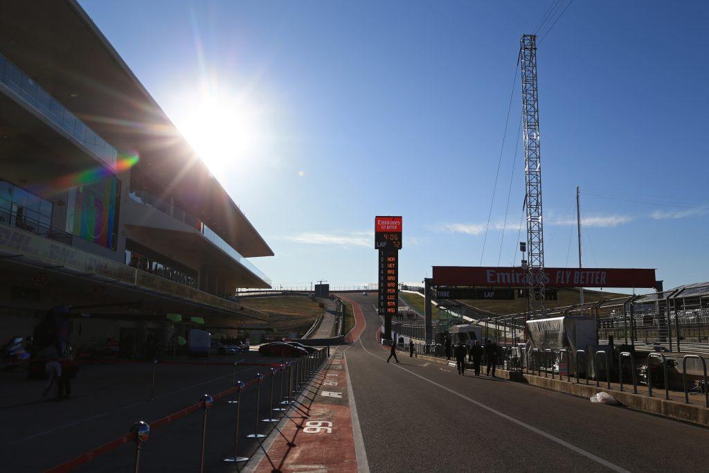 COTA USA FP1 Formula 1