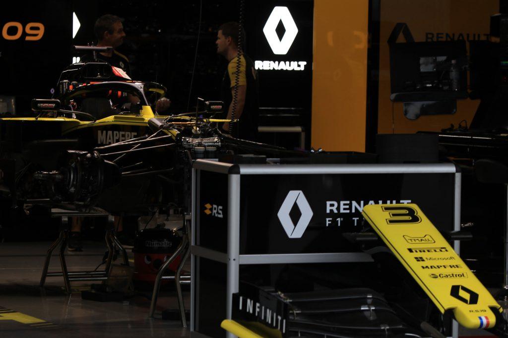F1 FOrmula 1 aerodynamic department Renault Dirk De Beer