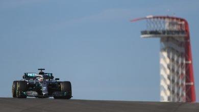 Photo of Hamilton quickest in second practice; Grosjean crashes
