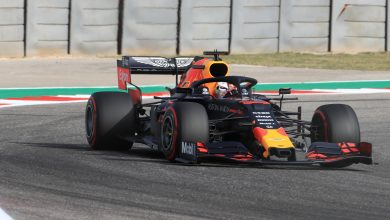 Photo of Verstappen fastest in final practice; problems for Leclerc