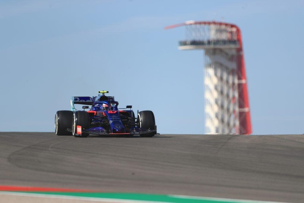 Pierre Gasly Toro Rosso USGP COTA Formula 1 F1
