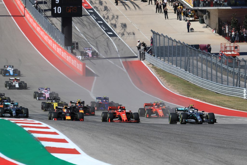 United States F1 Formula 1 Formula One Mercedes Lewis Hamilton Valtteri Bottas