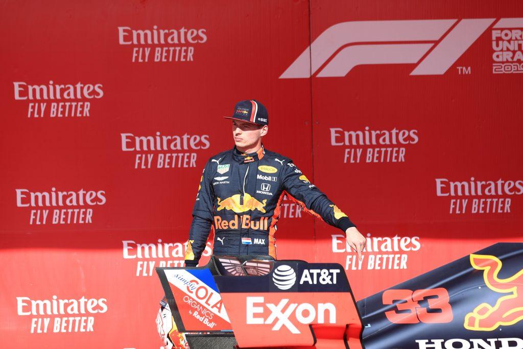 F1 Formula 1 Formula One Max Verstappen United States grand Prix