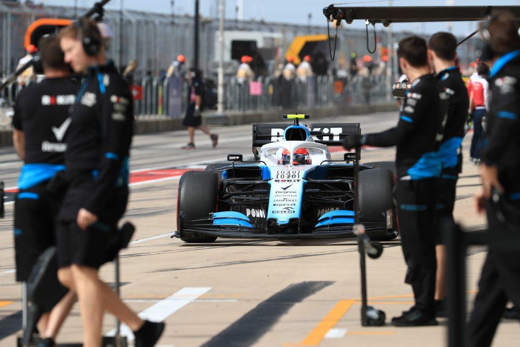 F1 Formula 1 Formula One United States Grand Prix Robert Kubica Williams retire the car
