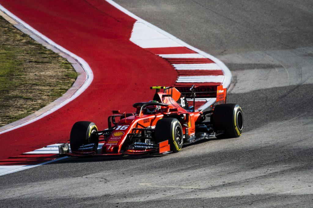 F1 Formula 1 Formula One Charles Leclerc Ferrari United States Grand Prix