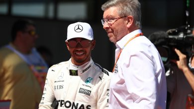 Photo of Ross Brawn: I questioned Hamilton's approach to racing