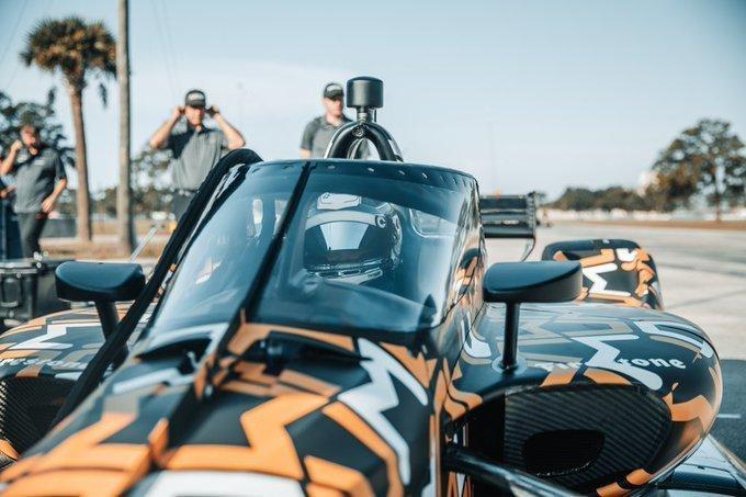 IndyCar Aeroscreen Patricio O'Ward