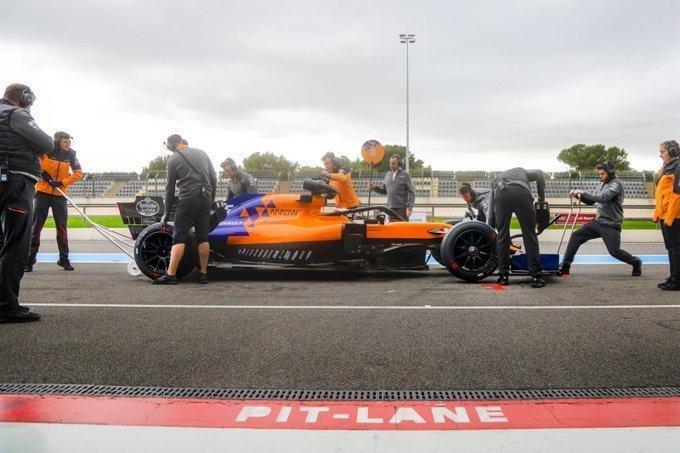 Pirelli Paul Ricard test McLaren F1 Formula 1 Formula One Pirelli tyre compound Pirelli
