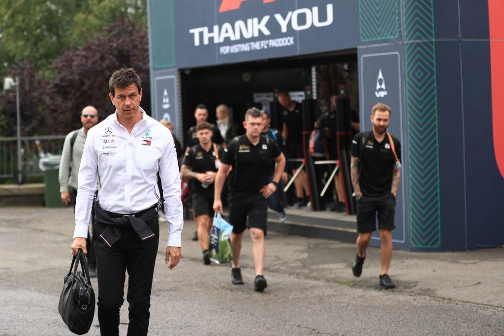 Brazilian Grand Prix F1 Formula 1 Formula One Toto Wolff Mercedes