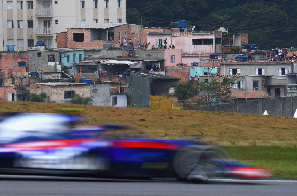 F1 Formula 1 Formula One Brazilian Grand Prix Toro Rosso physical challenge Daniil Kvyat Pierre Gasly