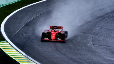 Photo of Vettel leads Leclerc in red-flagged second practice