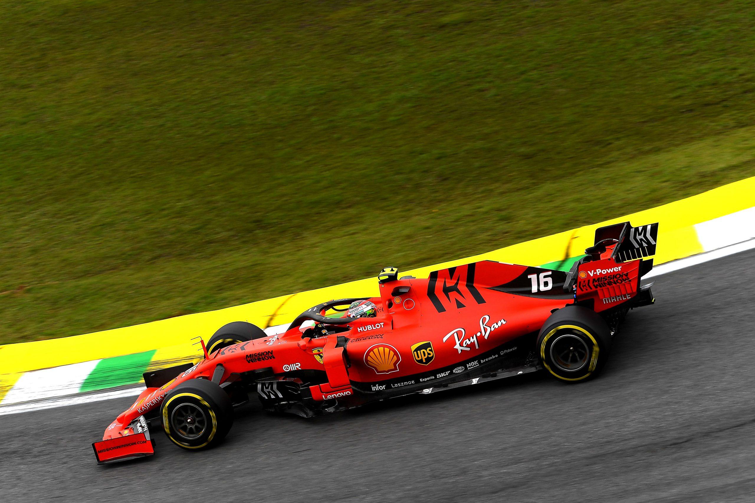 F1 Formula 1 Formula One Brazilian Grand Prix practice results FP3