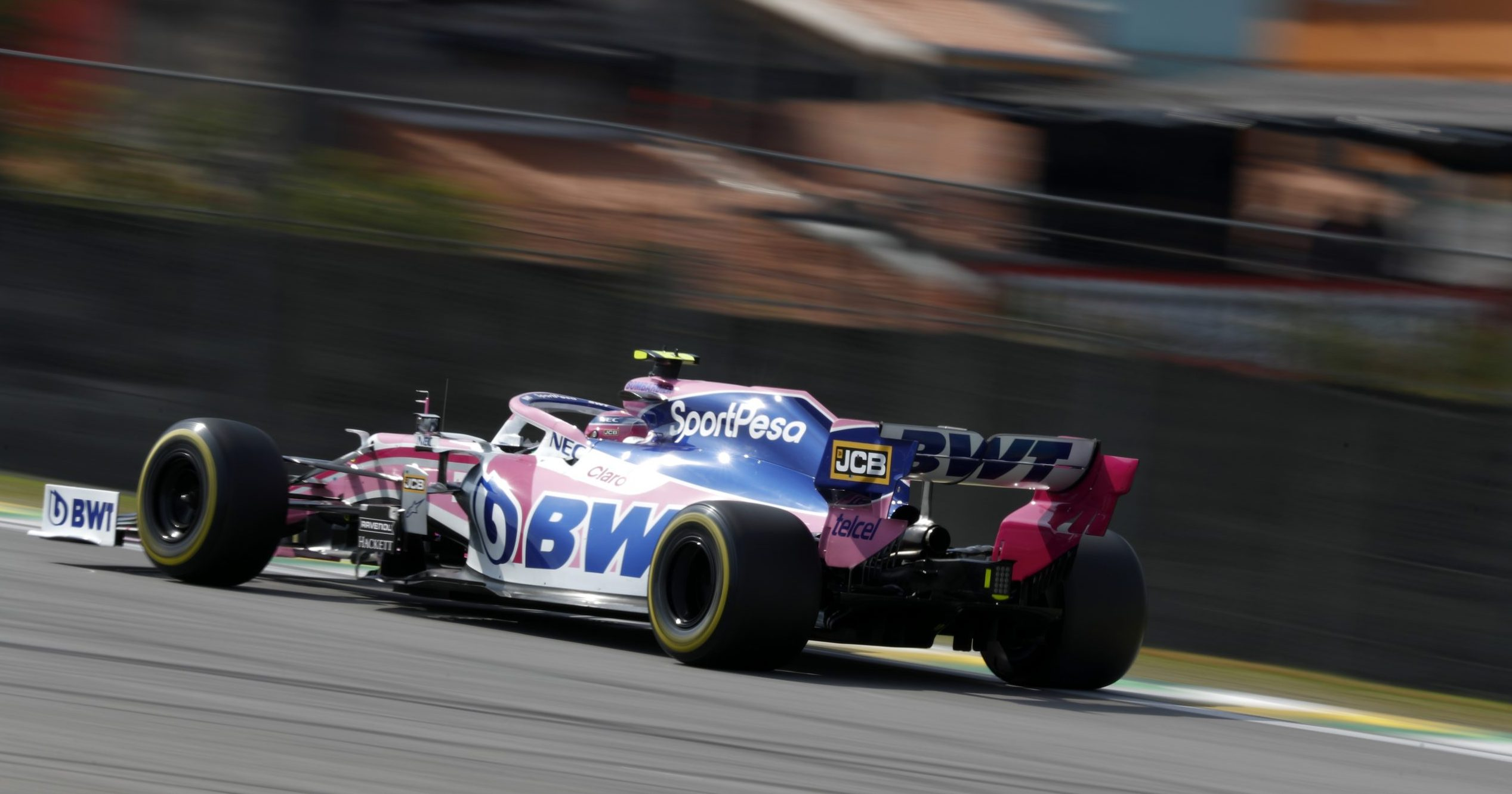 F1 Formula 1 Formula One Brazilian Grand Prix Lance Stroll Racing Point closing stages