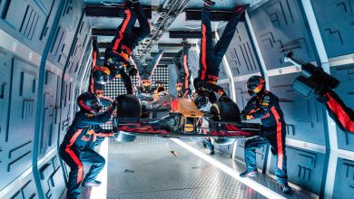 Photo of Watch Red Bull carry out a pitstop in zero gravity!