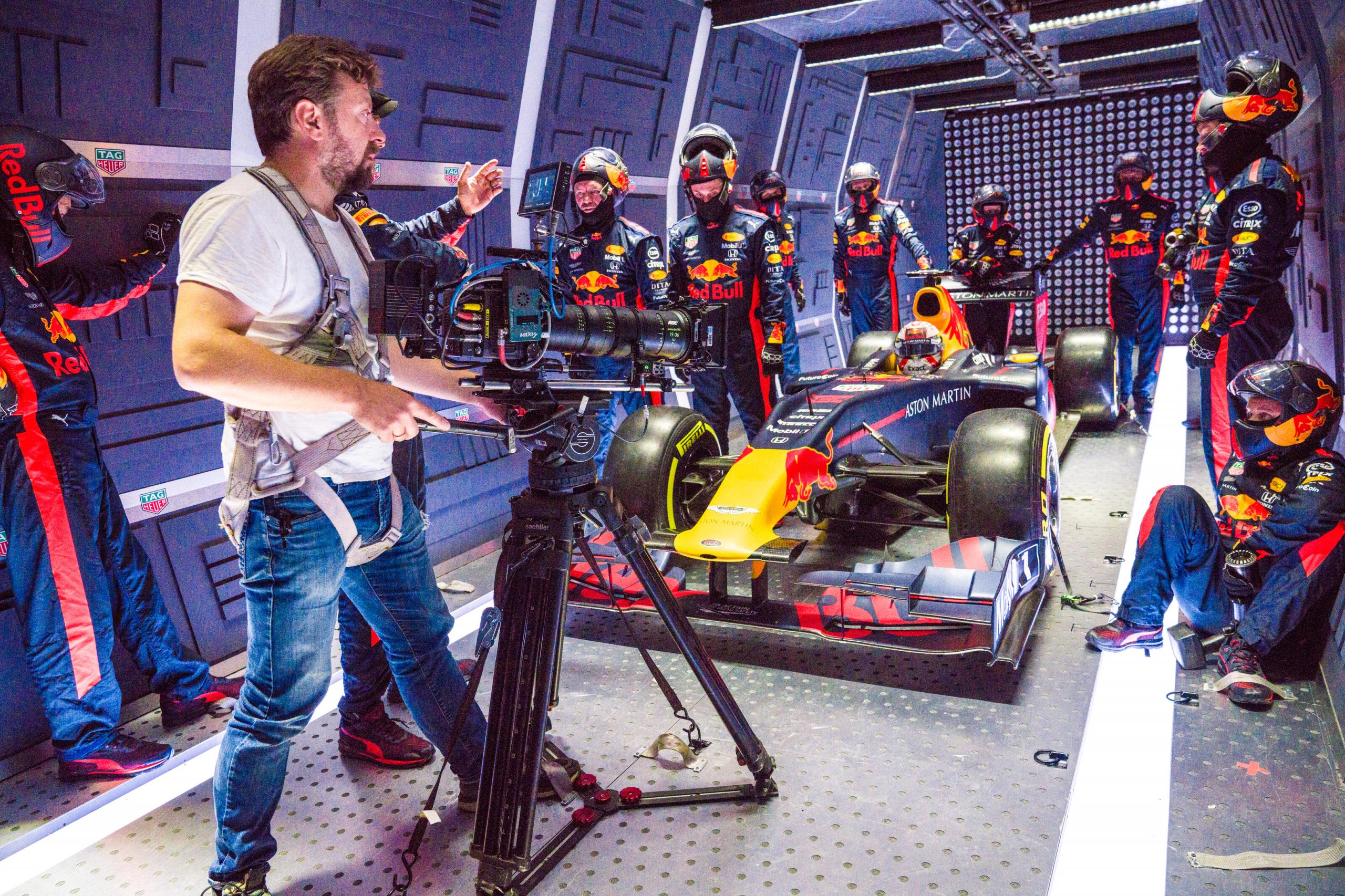 Red Bull zero gravity pitstop