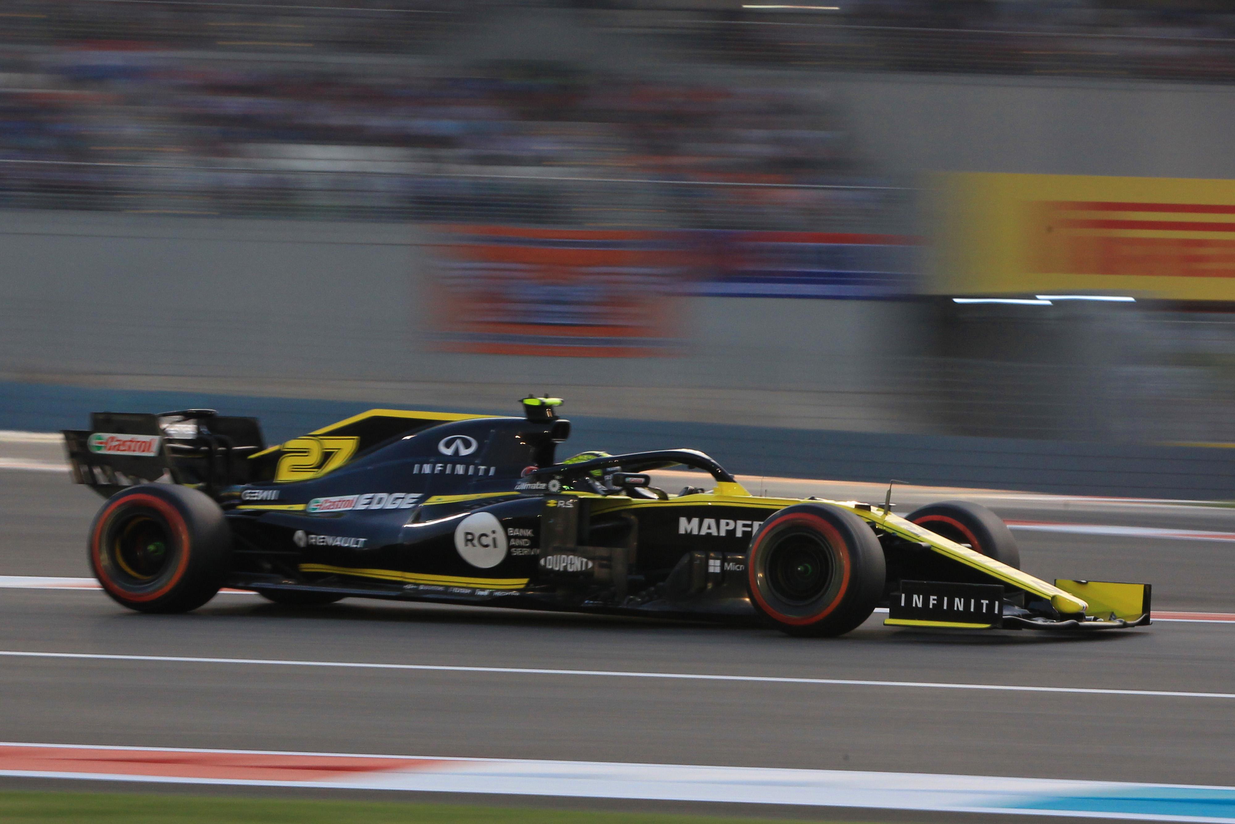F1 Formula 1 Formula One Renault Nico Hulkenberg championship points
