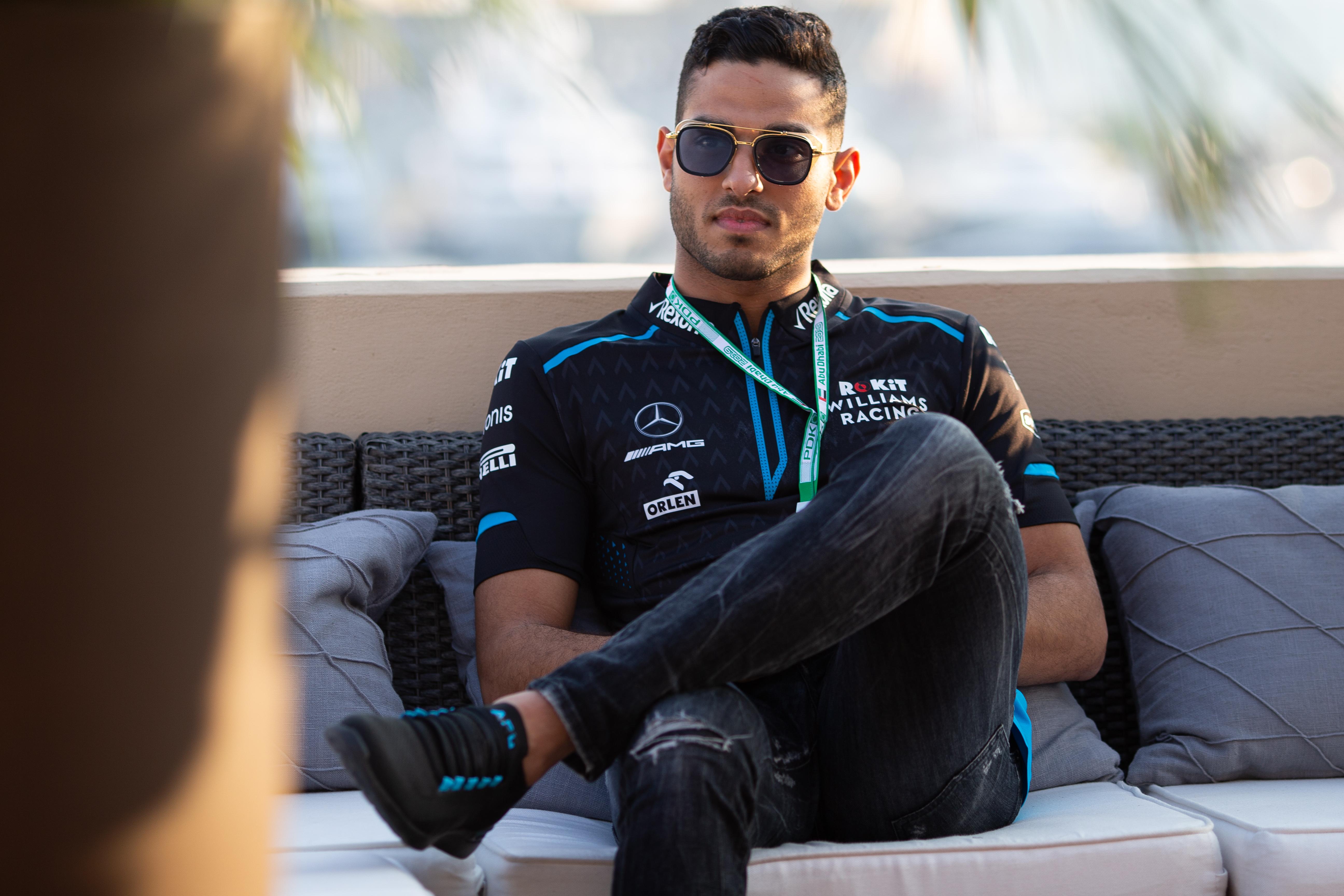 Roy Nissany Williams Formula 1 F1 Testing Yas Marina Tuesday and Wednesday