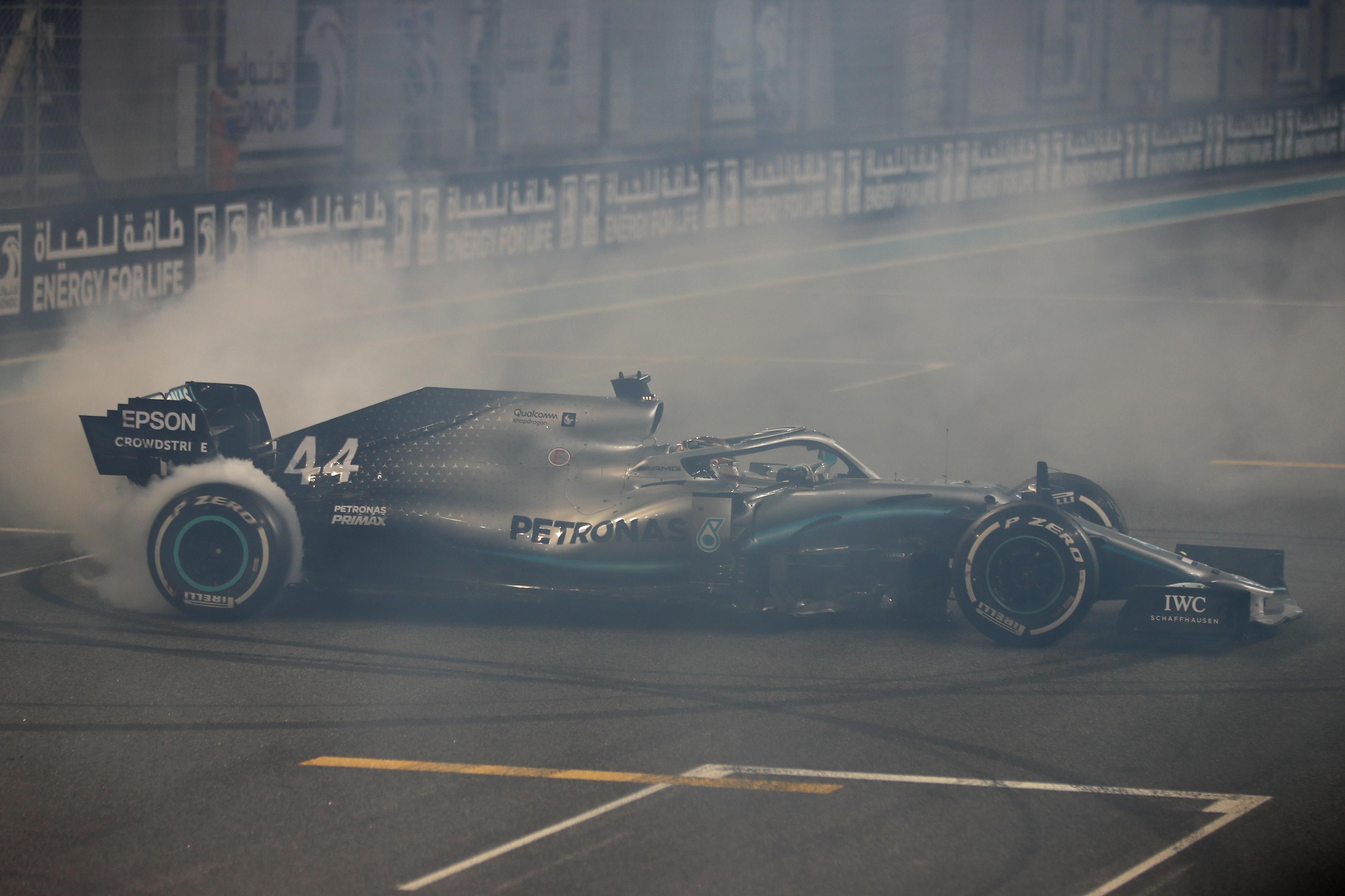 F1 Formula 1 Formula One Lewis Hamilton Mercedes Abu Dhabi Grand Prix friday practice Hamilton