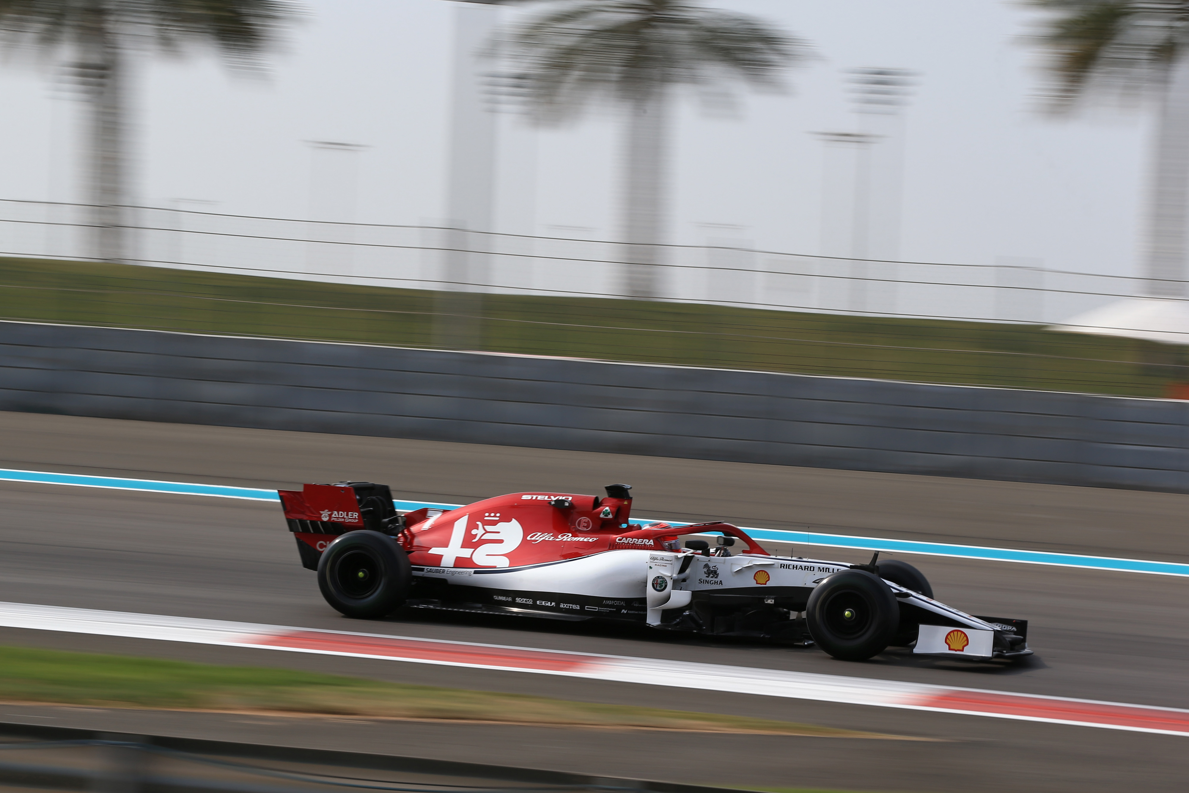 F1 Testing results Abu Dhabi Yas Marina