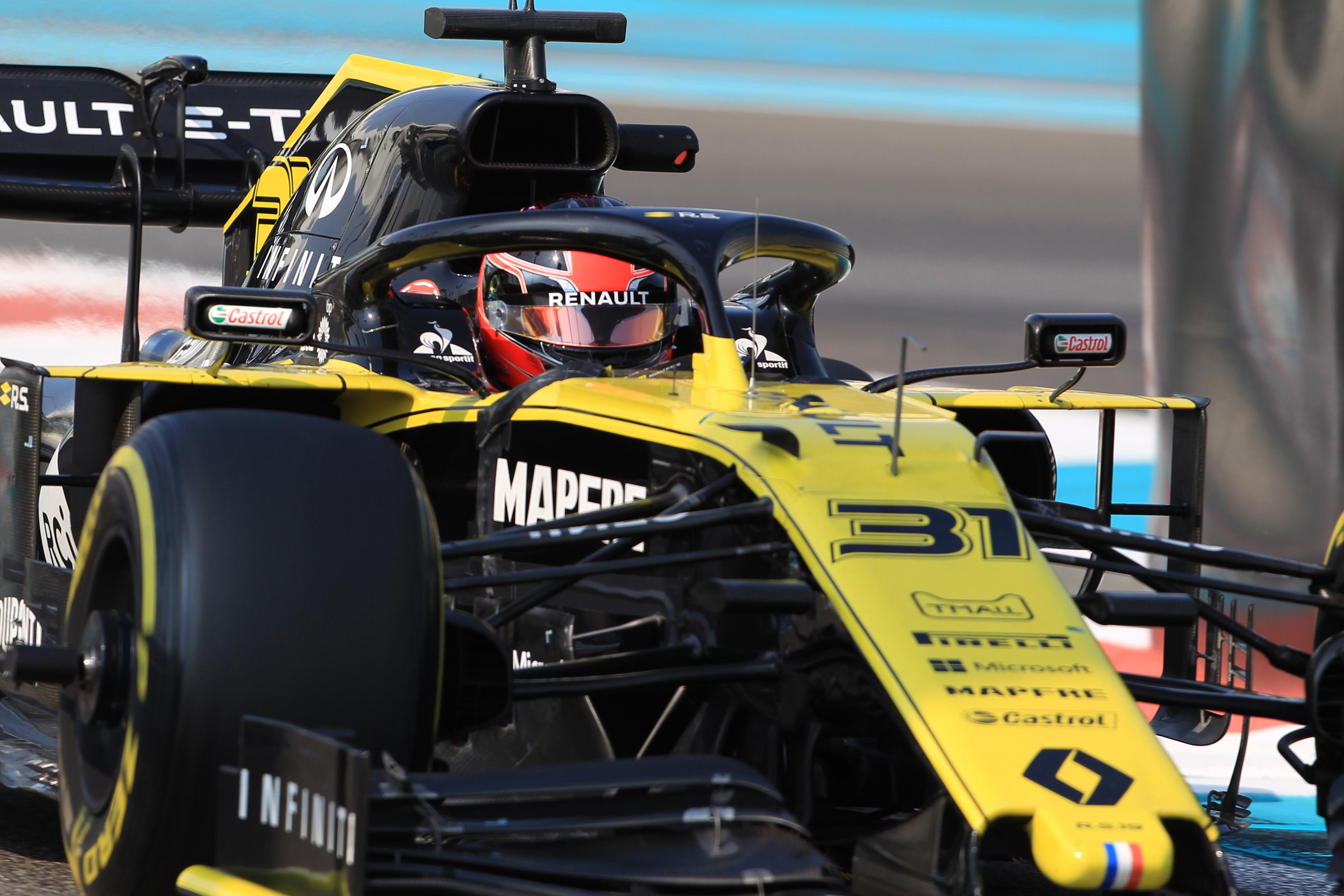 F1 Formula 1 Formula One Testing Pirelli returned to formula 1 abu dhabi tyre testing esteban ocon