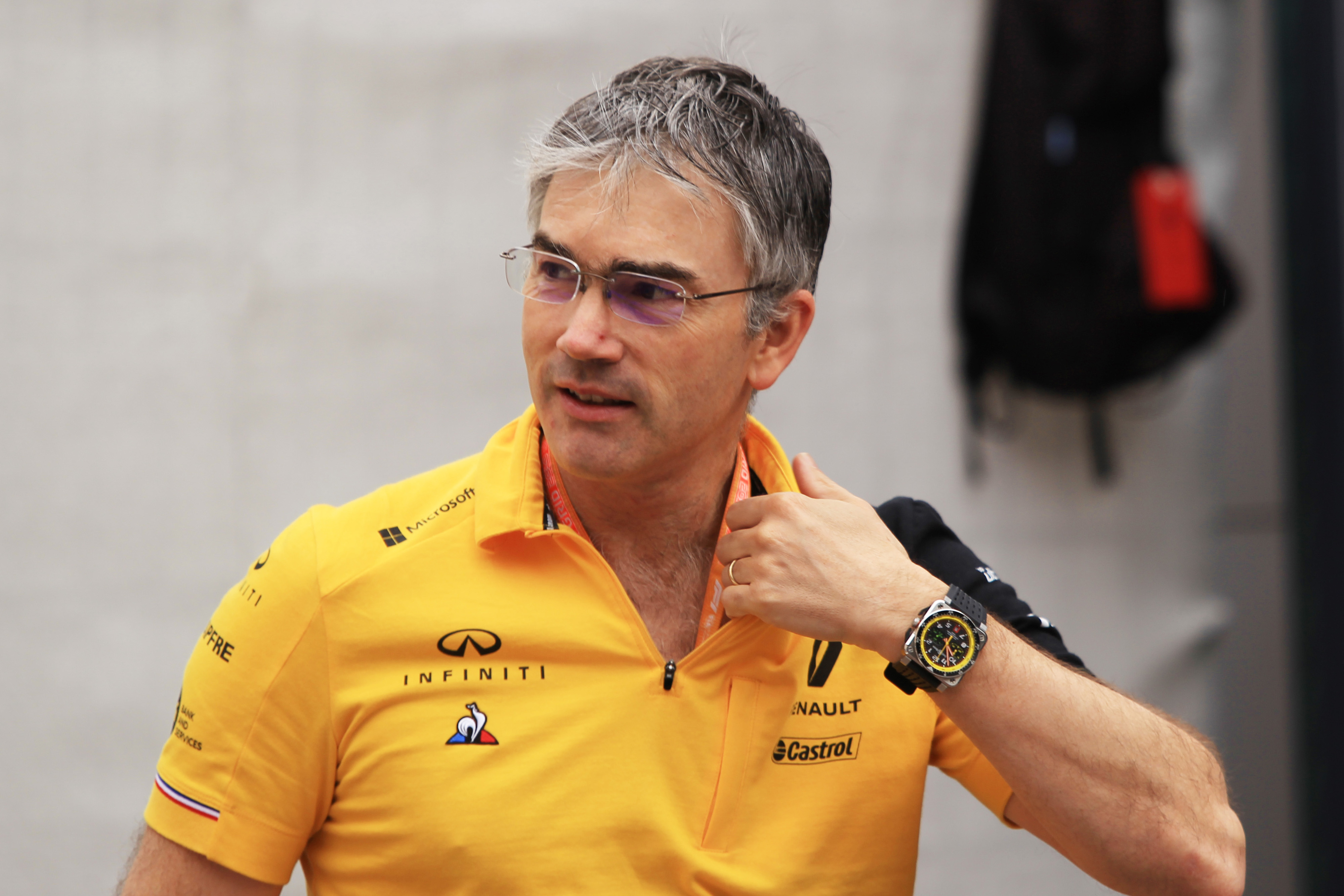 F1 Formula 1 Formula One Nick Chester Technical Director Renault