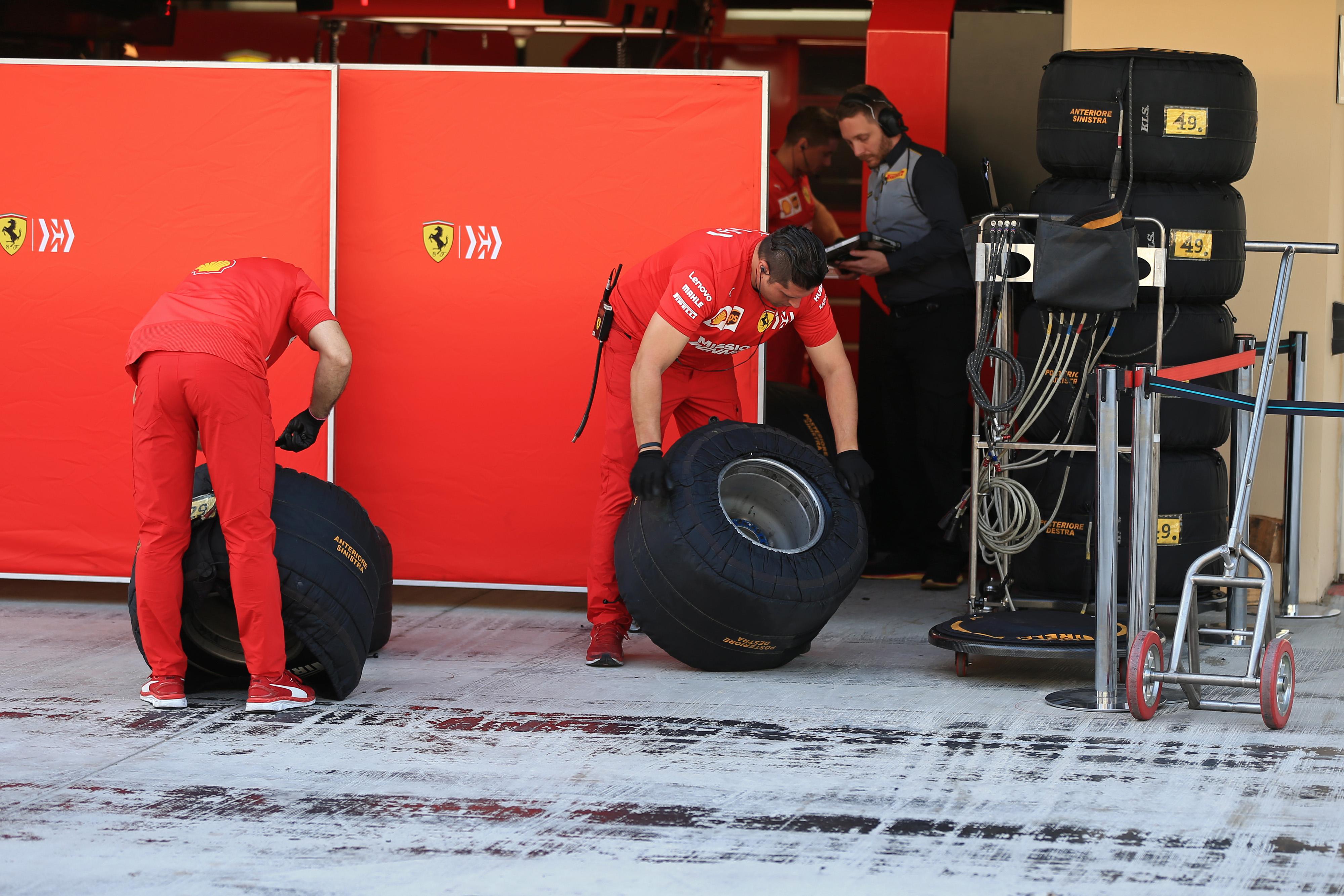 F1 Formula 1 Formula One 2020 tyre test Pirelli