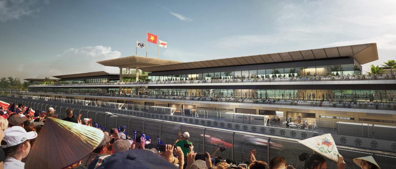 F1 Formula 1 Formula One Vietnam Grand Prix Hanoi Circuit additional corner