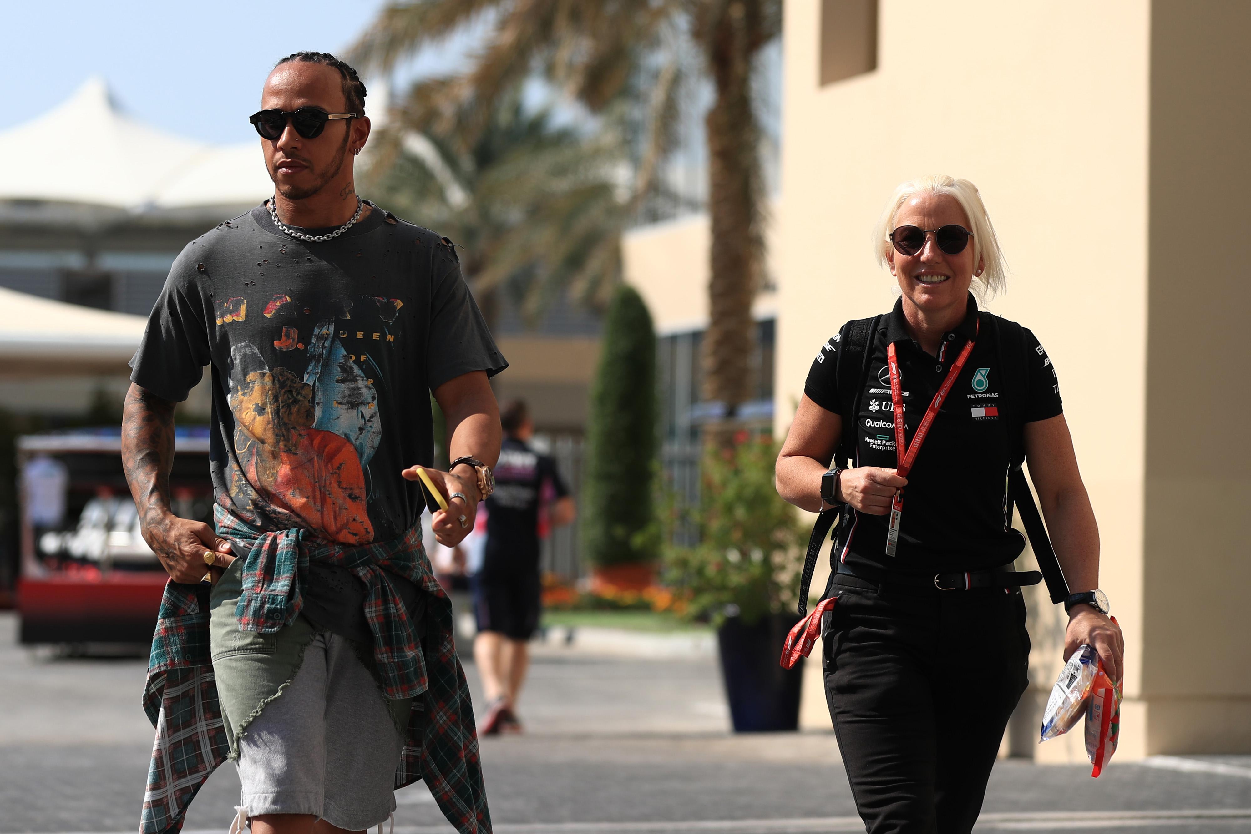 F1 Formula 1 Formula One Lewis Hamilton Ferrari Eddie Jordan