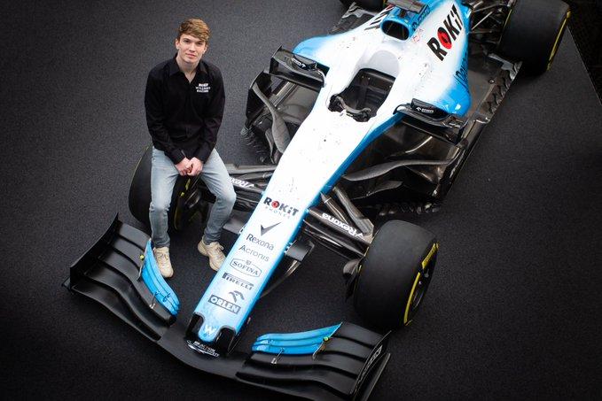 F1 Formula 1 Williams Dan Ticktum Williams racing driver