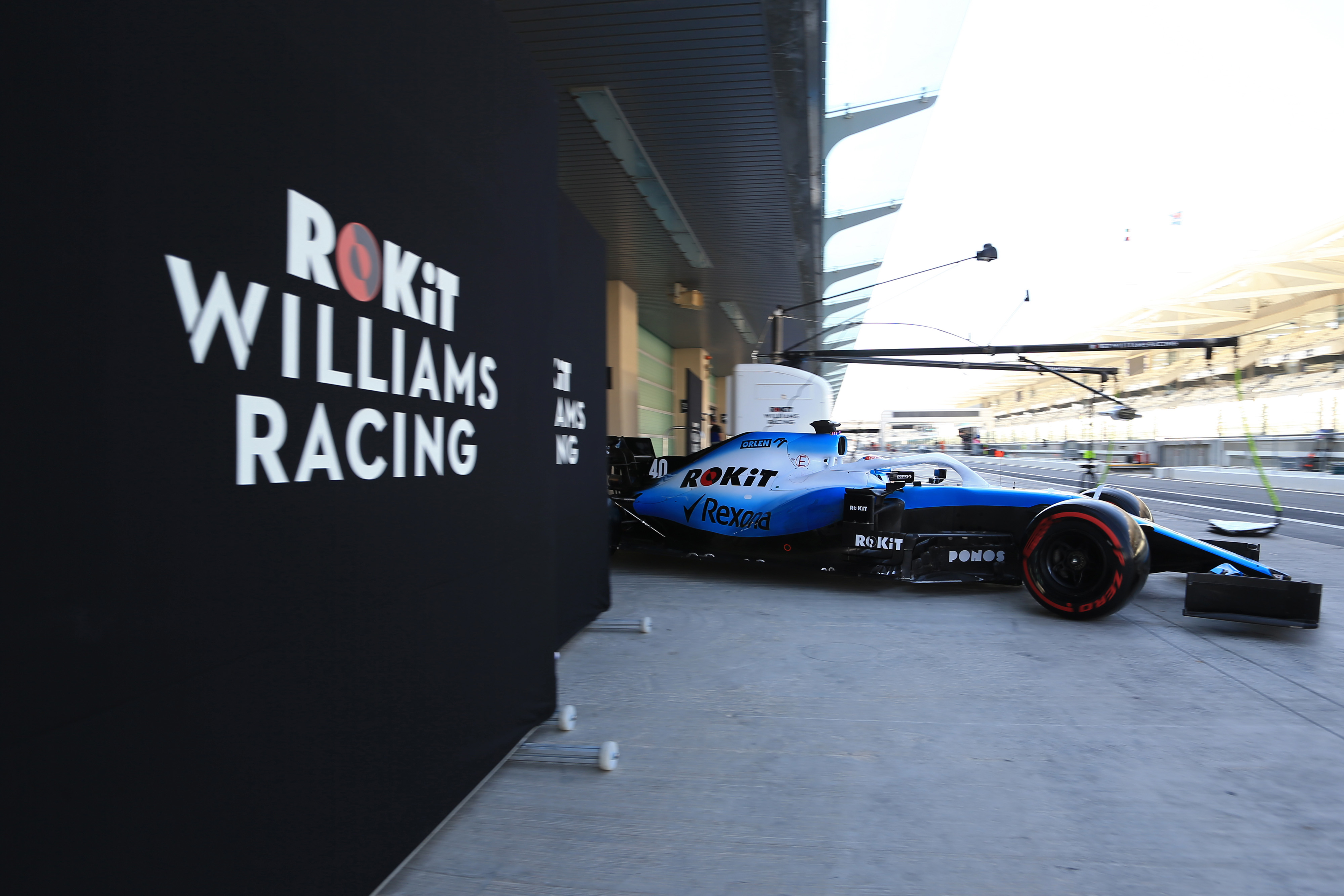F1 Formula 1 Williams Lavazza Nicholas Latifi