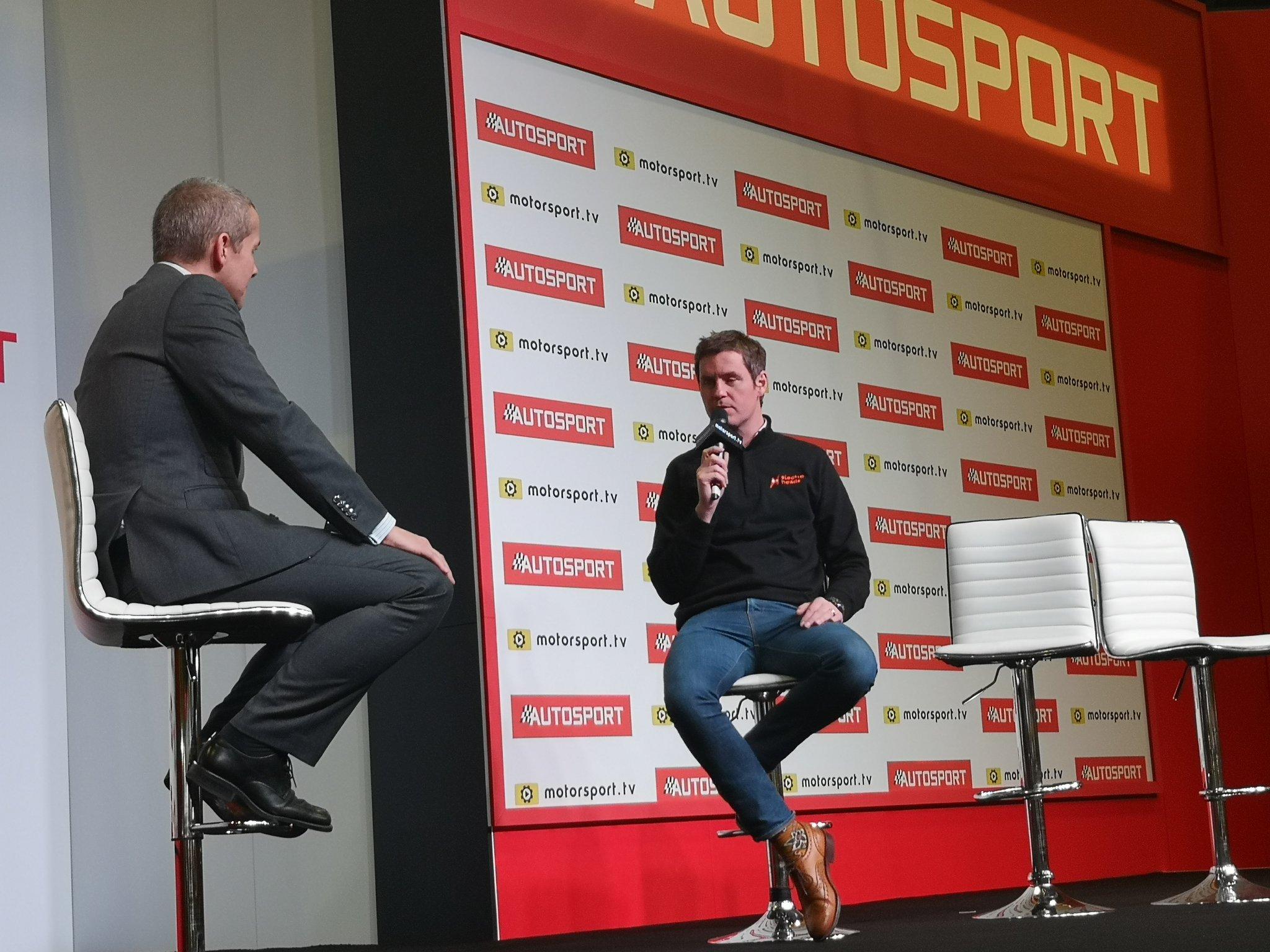 F1 Formula 1 Rob Smedley electric go karting Rob Smedley
