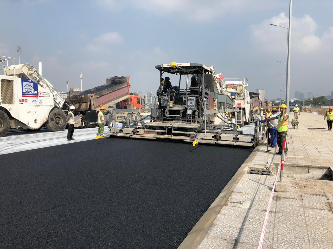 Hanoi Circuit Vietnam Grand Prix layer of asphalt