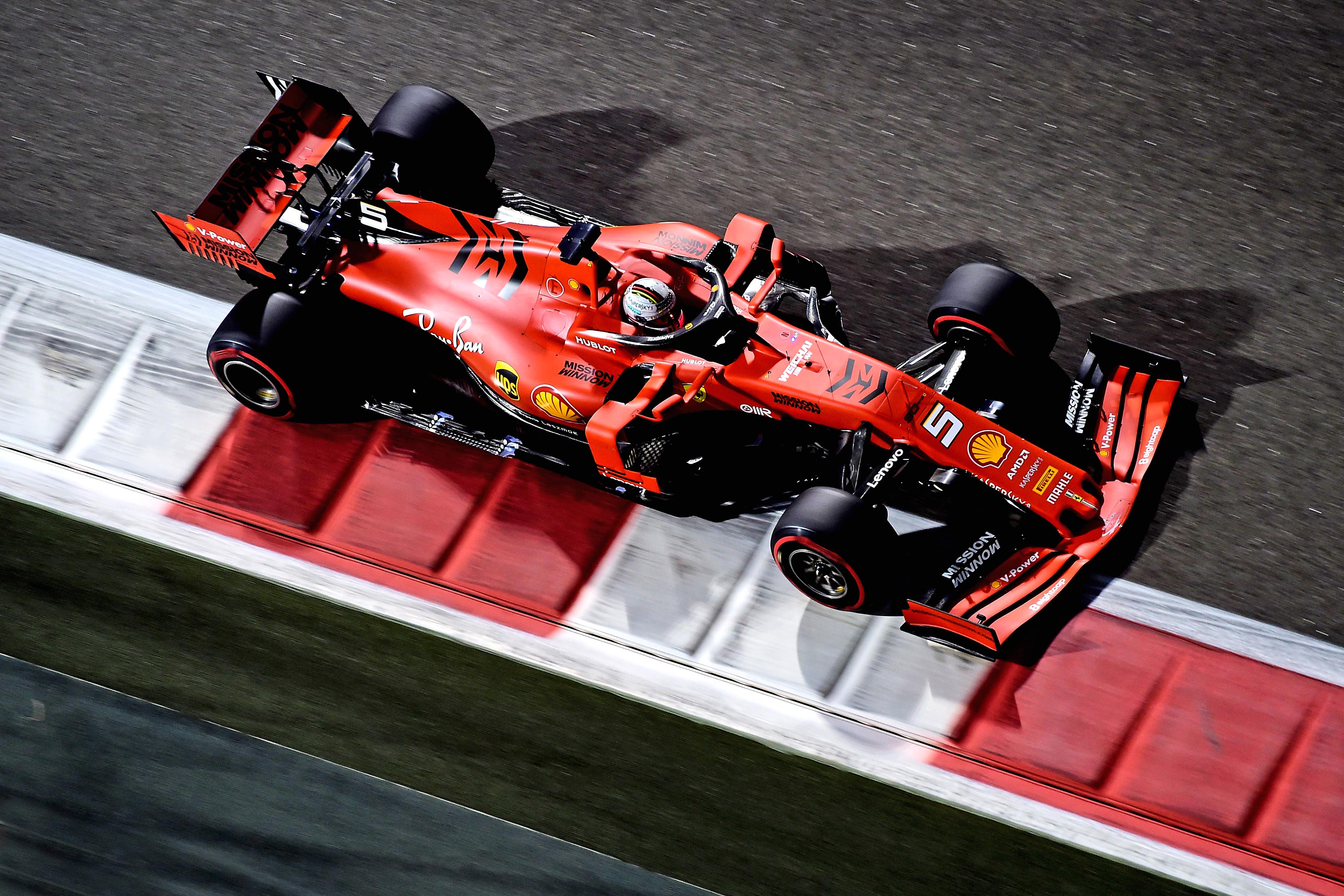 F1 Formula 1 Ferrari Leclerc Vettel