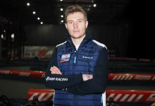 Photo of Sergey Sirotkin opening karting academy in Russia