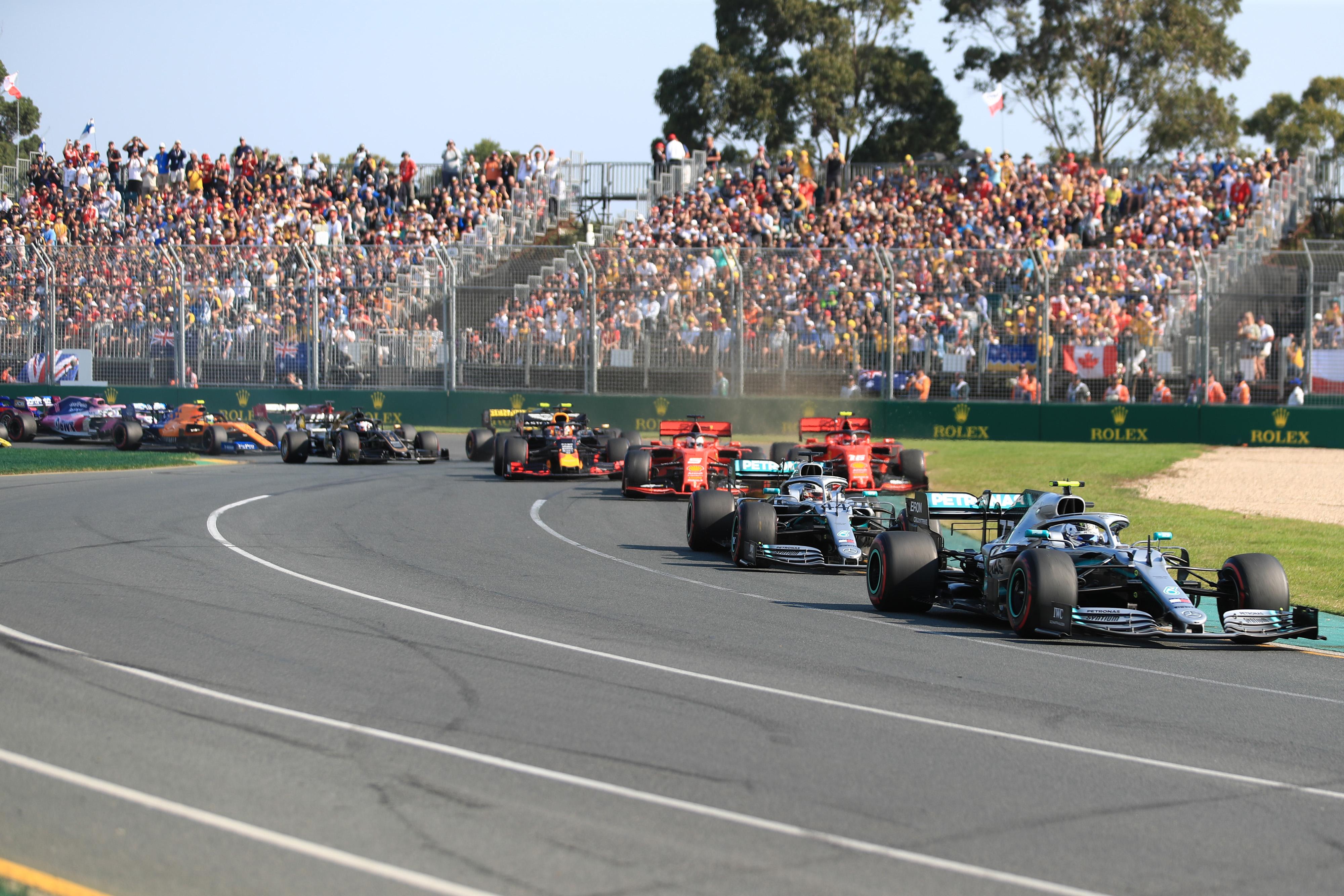 F1 Formula 1 Australian Grand Prix auction