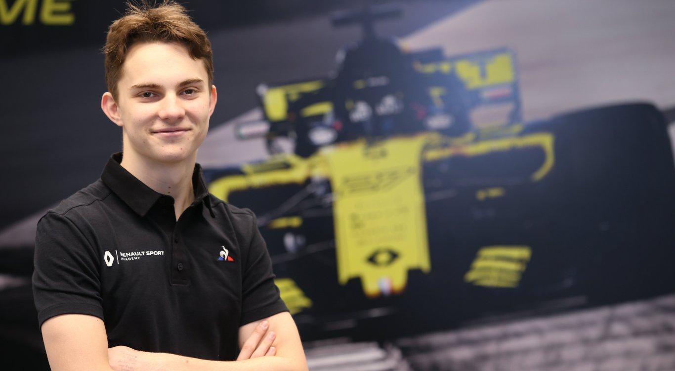 F1 Formula 1 Renault Sport Oscar Piastri