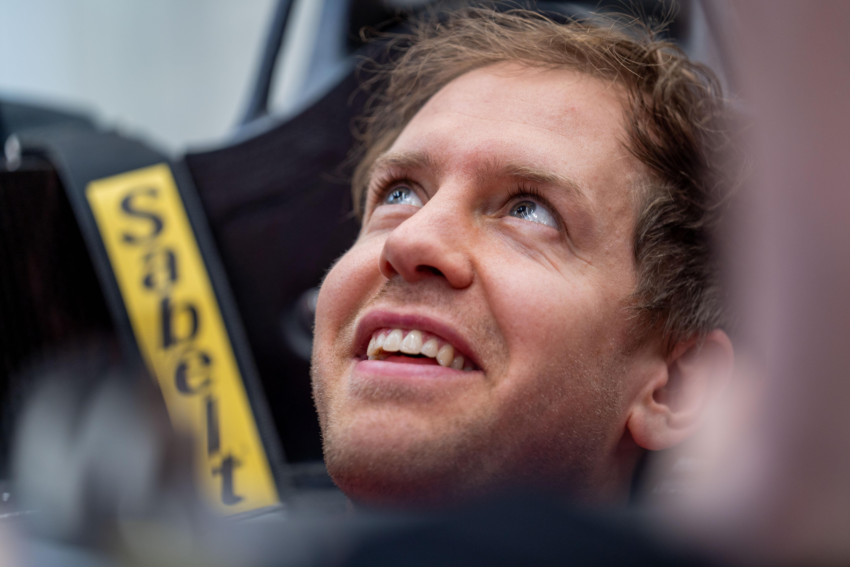 F1 Formula 1 Ferrari Sebastian Vettel testing 2020 car launch