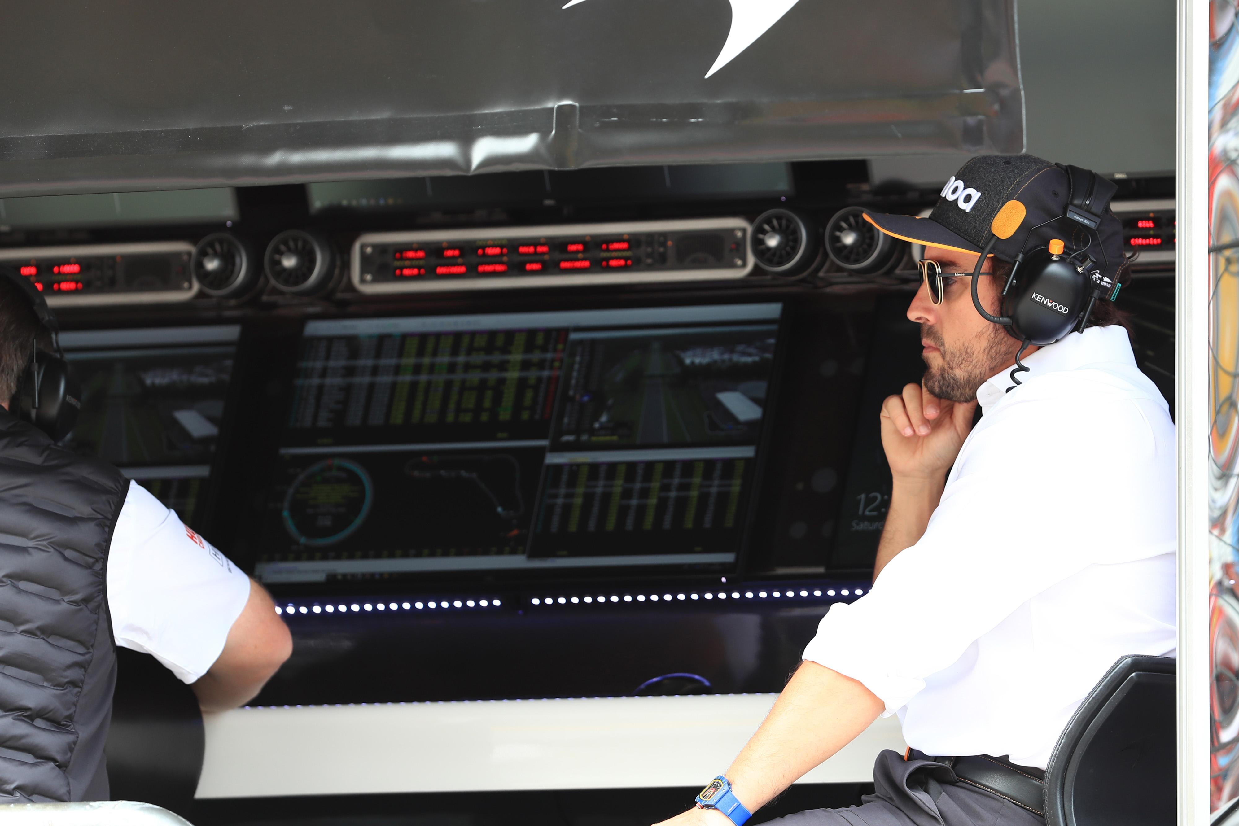 F1 Formula 1 Fernando Alonso McLaren Honda Indy 500