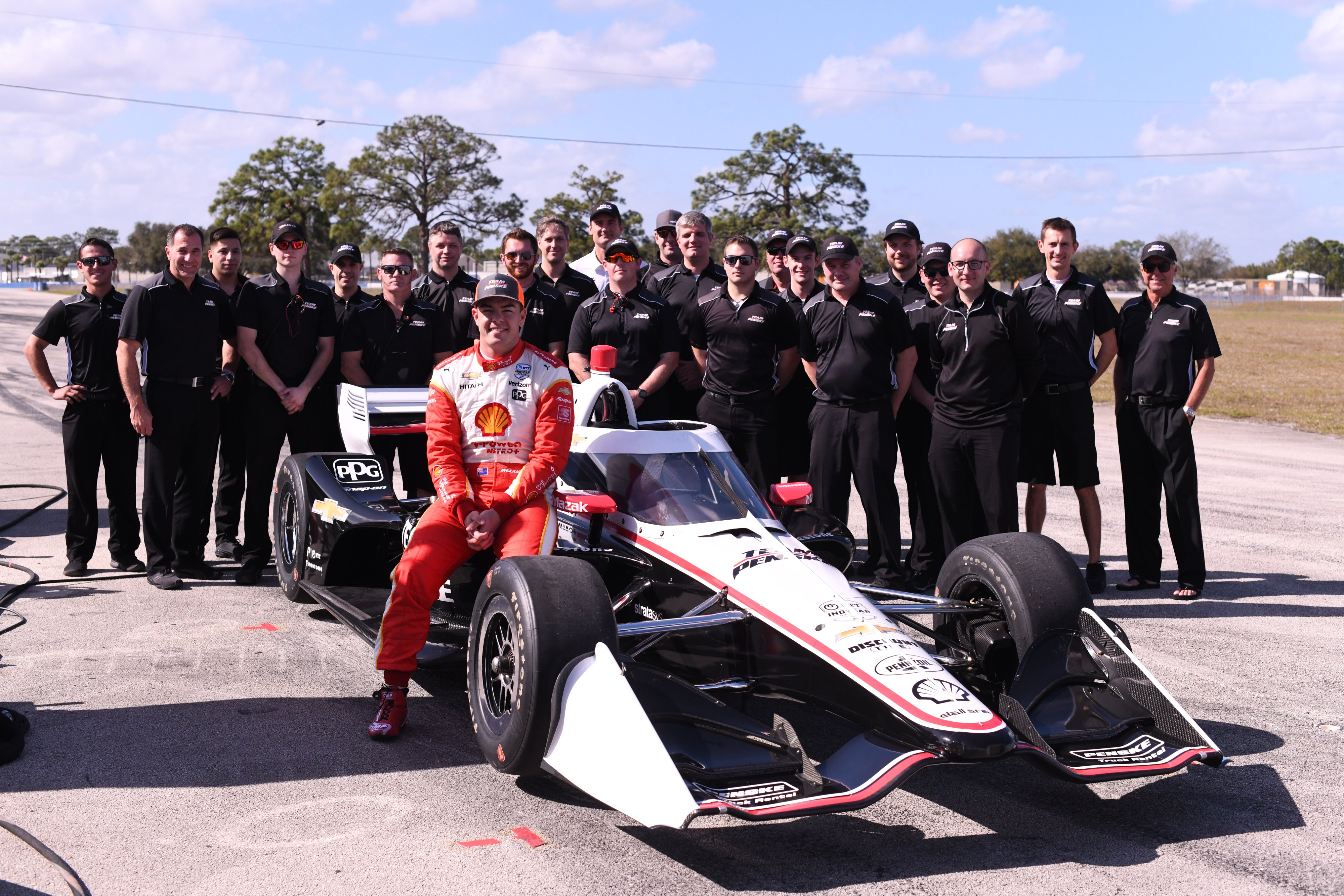 IndyCar Penske Scott McLaughlin