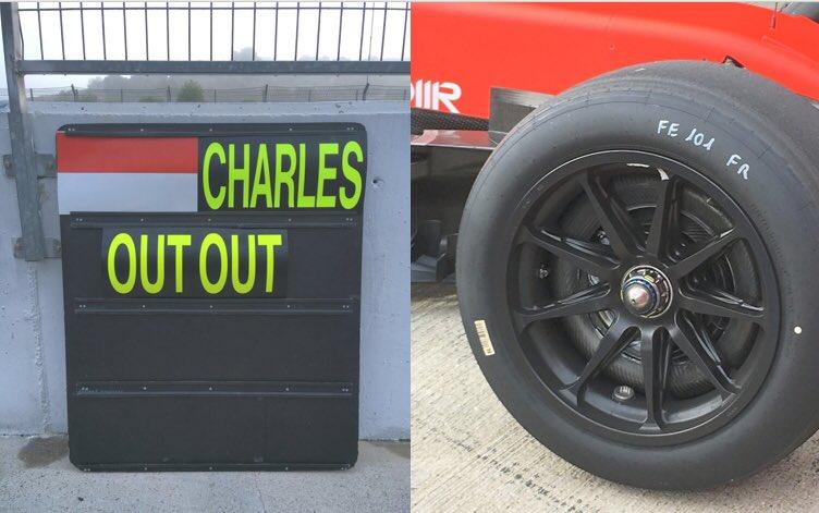 F1 Formula 1 Pirelli 18 inch tyre testing
