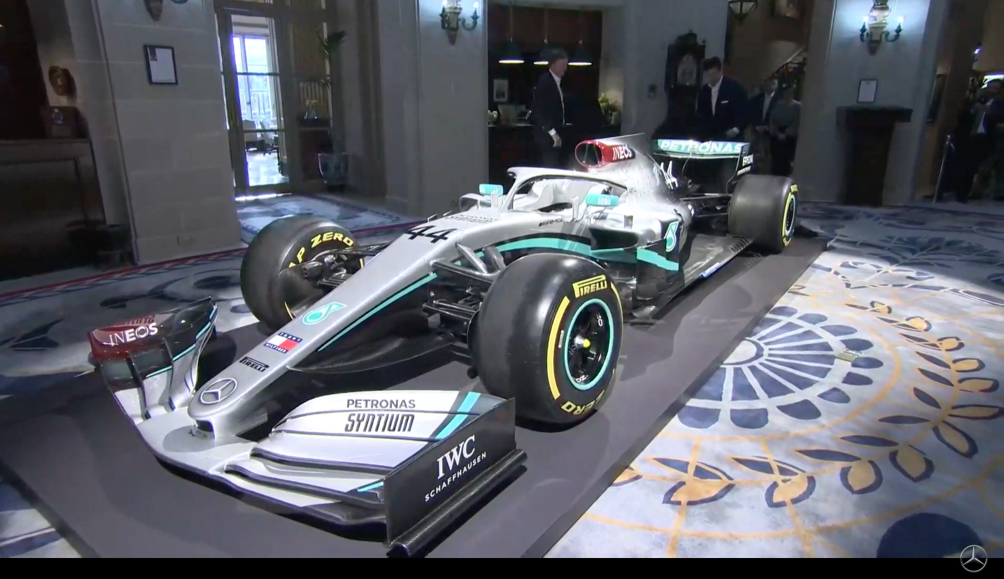 Formula 1 - Mercedes reveal 2020 livery and INEOS as new ...