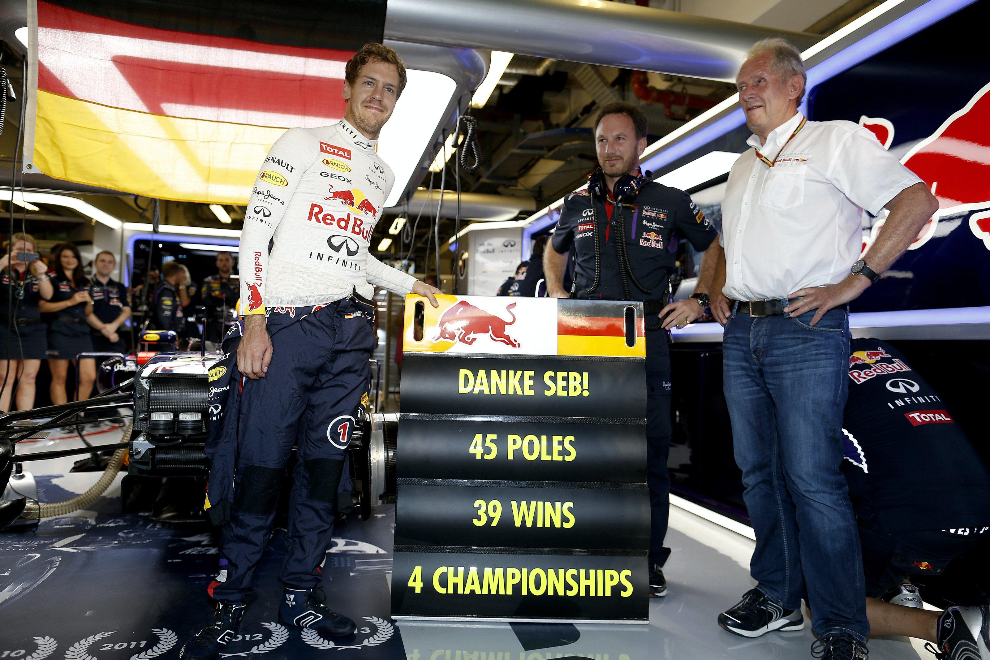 F1 Formula 1 Red Bull Sebastian Vettel contract Verstappen