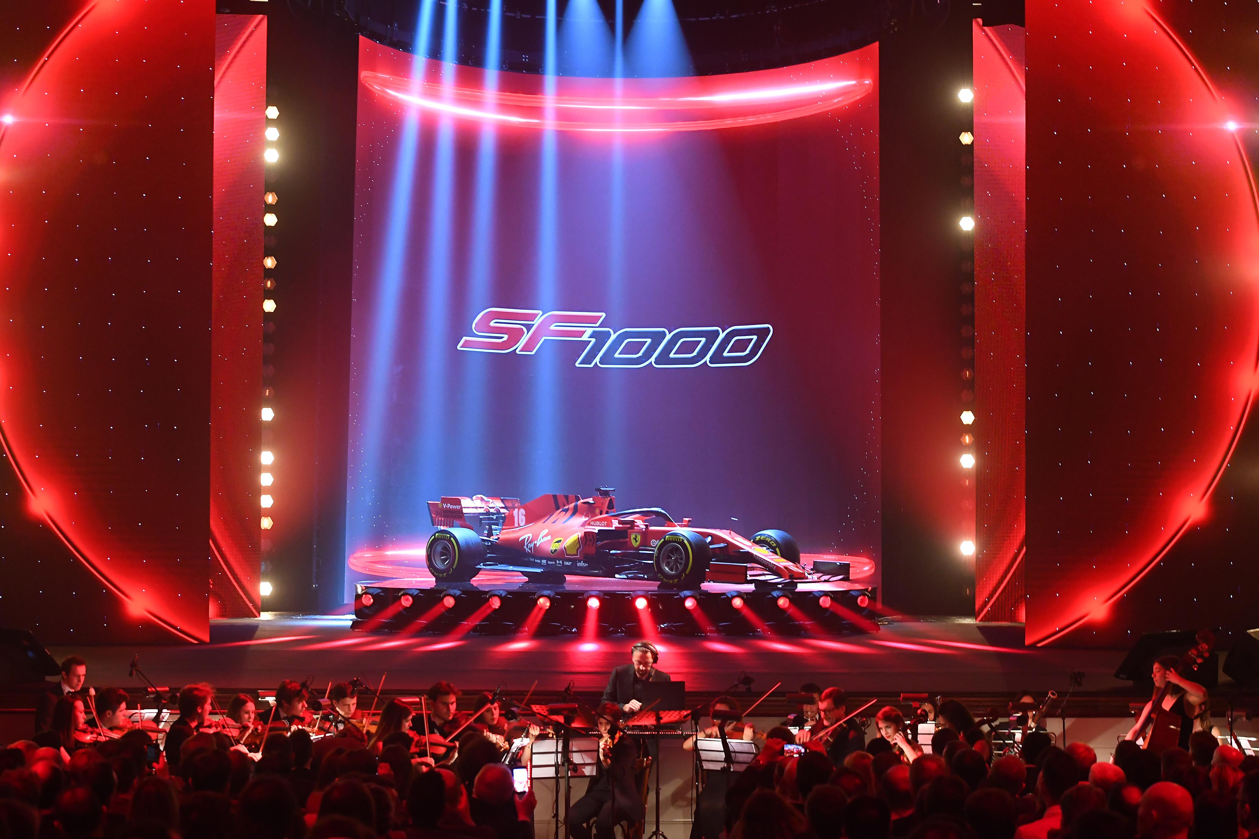 F1 Formula 1 Ferrari Binotto 2020 car