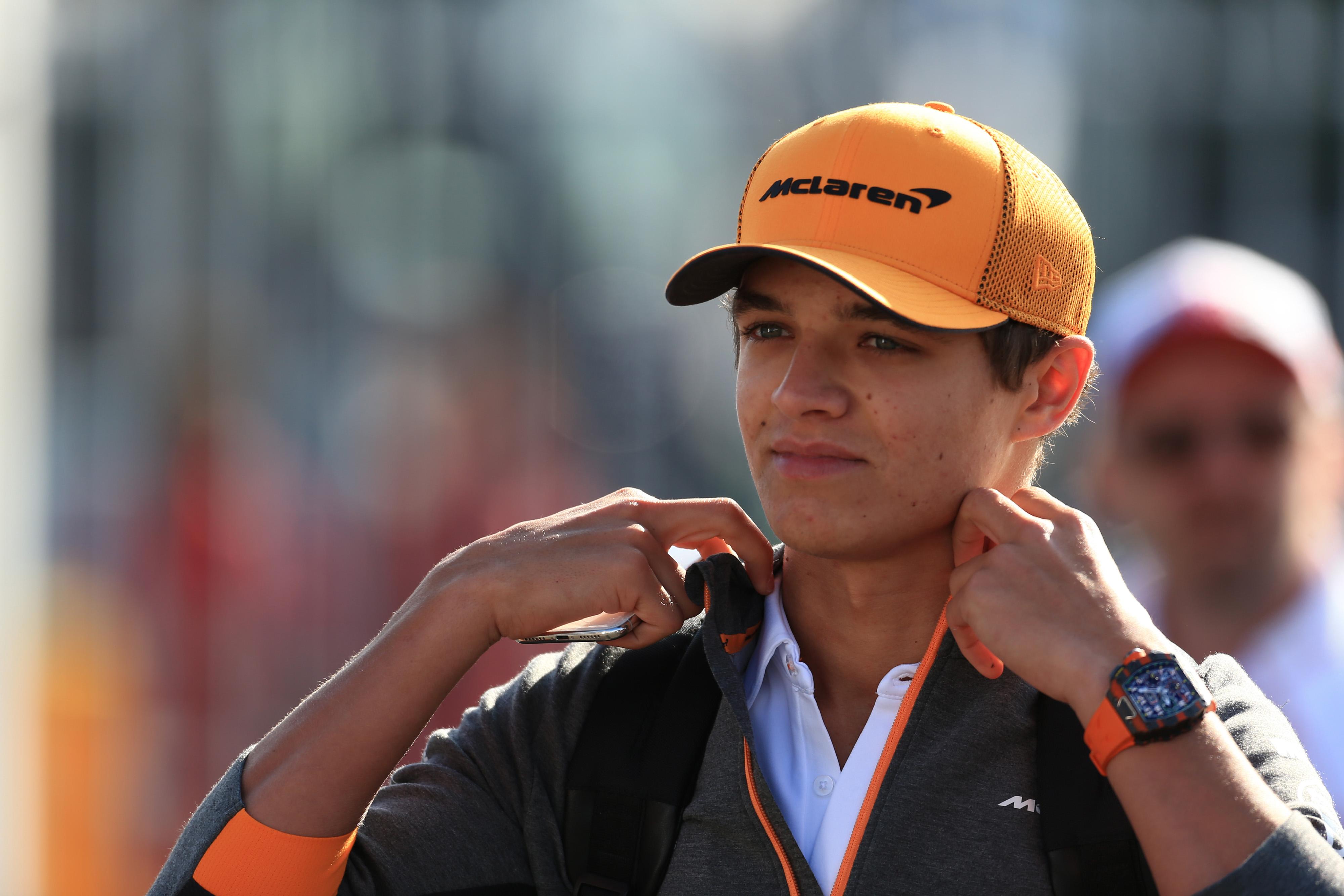 F1 Formula 1 Lando Norris McLaren