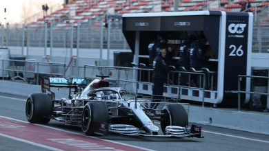 Photo of Latest Times (Results) – F1 Testing (Test 1 – Day 1)