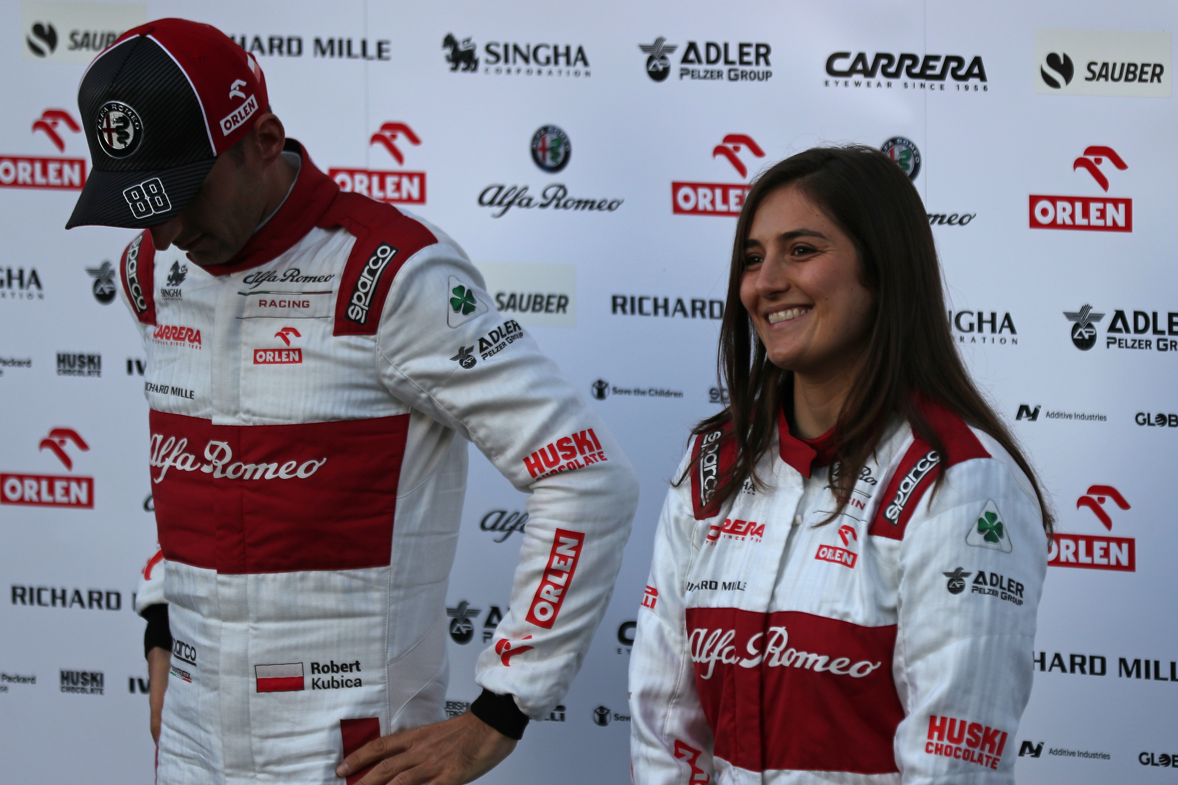 F1 Formula 1 Tatiana Calderon Alfa Romeo