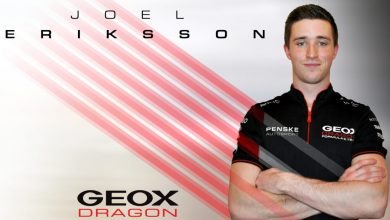 Photo of Geox Dragon sign Eriksson as reserve driver