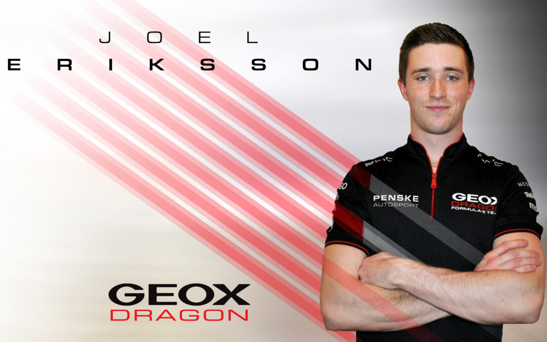 Geox Dragon sign Eriksson as reserve driver