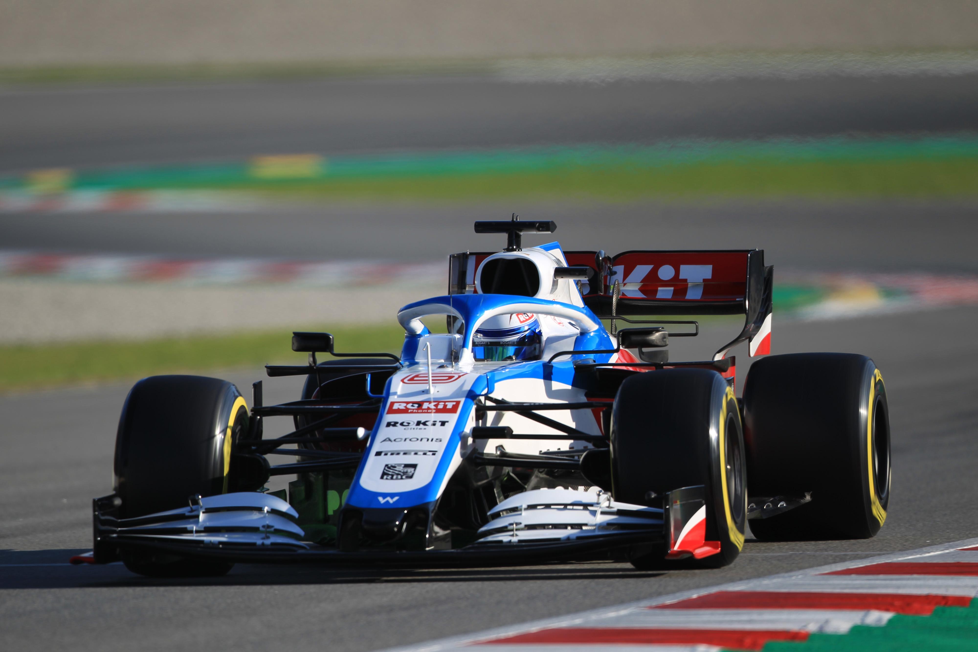 F1 Formula 1 Nicholas Latifi Williams car